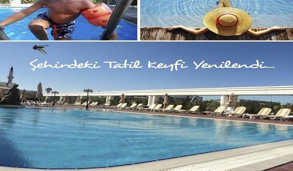Büyükhanlı Otel Açık Yüzme Havuzu