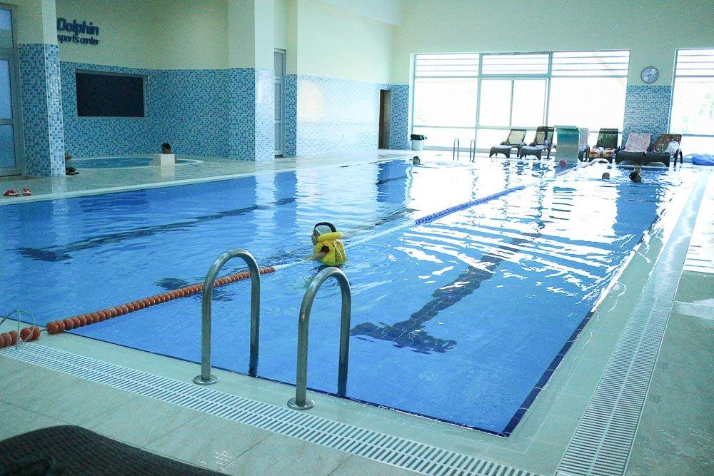 Eryaman Dolphin Spor Merkezi Yüzme Havuzu