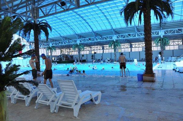 Kızılcahamam Belediyesi Yarı Olimpik Yüzme Havuzu