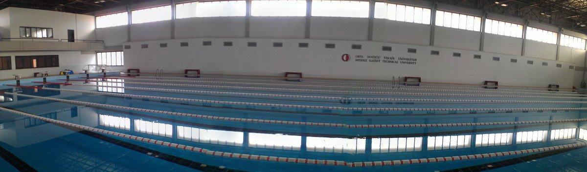 Odtu Kapalı Yüzme Havuzu