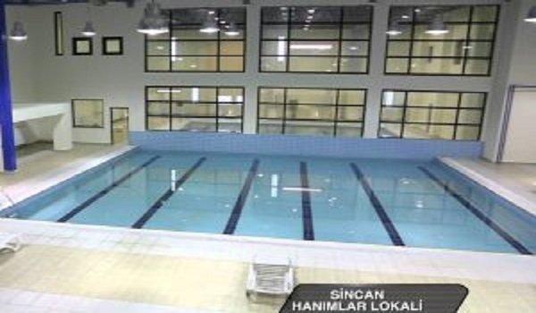 Sincan Hanımlar Lokali Yüzme Havuzu